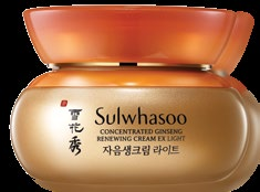 <b>LIGHT AS A FEATHER</b> Sulwhasoo's Concentrated Ginseng Renewing Cream EX Light won Best Day Moisturiser in our Best Beauty Buys Awards this year, thanks to its refreshing texture.