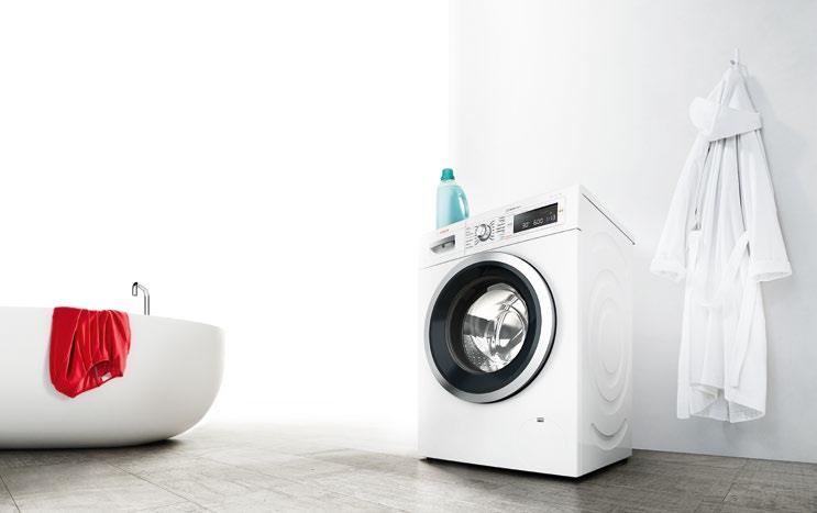 <b>SAVE ENERGY AND MONEY</b> thanks to Bosch's state-of-the-art washers.