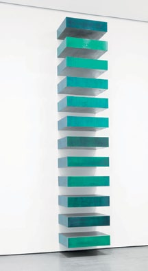 Untitled Stack by Donald Judd at MoMA