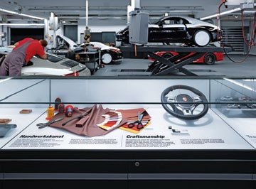 The Porsche Exclusive Manufaktur, where engineering and customisation take place