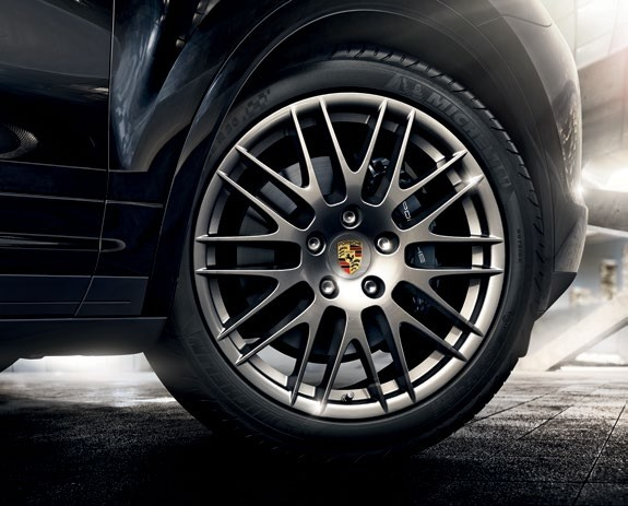 The 20-inch RS Spyder design
