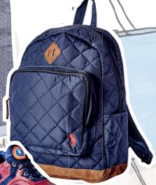 Backpack, $220, Ralph Lauren Children.