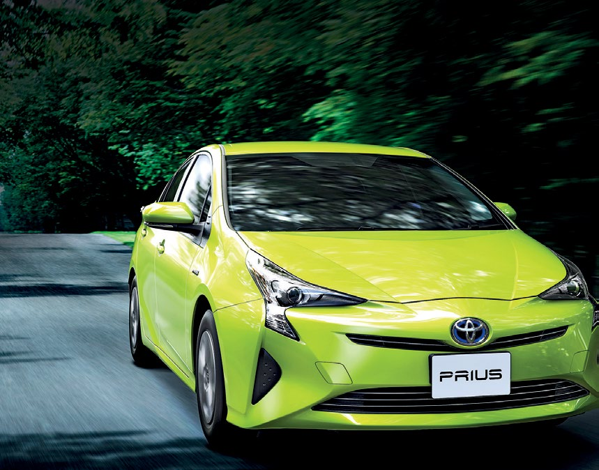 TOYOTA HAS TRIED TO MAKE THE PRIUS LESS GEEKY AND MORE FUNKY.  Dashboard has become more futuristic, but it's still ergonomic and now betterequipped, with nifty features such as twin 4.2- inch screens.