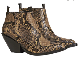 Cow leather boots, $249, from H&M.