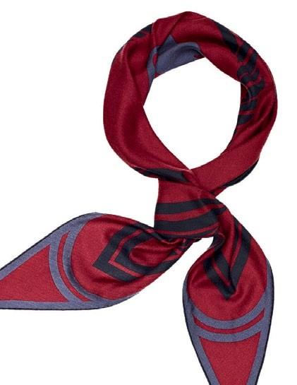 Cashmere and silk Quadrige losange, $960