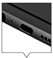On the bottom of the OnePlus 3 is a USB Type-C charging port.
