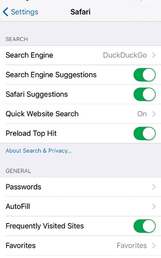 Apple has added DuckDuckGo as a search choice in iOS and OS X for privacy-minded users