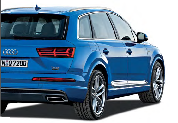 The new Q7 has shed a lot of weight – the 3.0 TFSI variant is a whopping 210kg (equivalent to three adults) lighter than its predecessor.