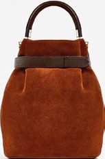 Suede and leather, $129, from Zara.