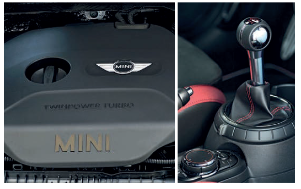 Playing with the JCW engine's 231bhp and 320Nm is more satisfying with the manual gearbox than with the automatic.
