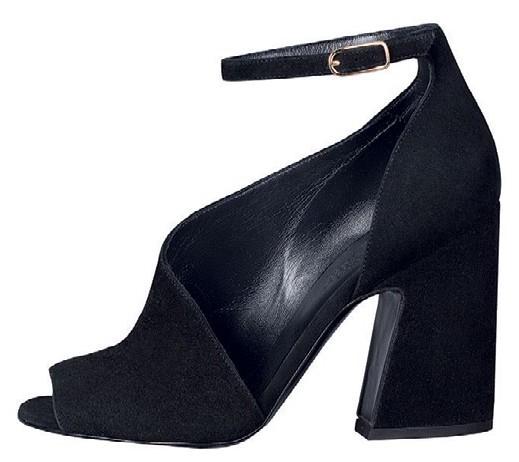 Suede goatskin sandal, $1,400