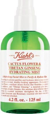 Cactus Flower & Tibetan Ginseng Hydrating Mist, $40 for 125ml, Kiehl's