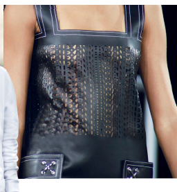 What a way to leave an impression! Alexander Wang made sure no one forgets him by using his name as a monogram