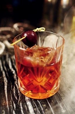 A GOOD BLEND: The Black Pearl is an example of a good mix of classic scotch and aperitifs.