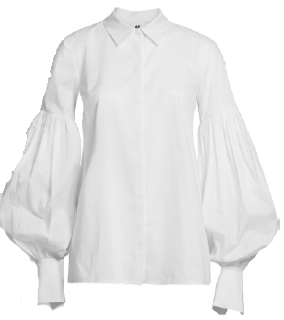 Cotton-blend shirt, $99, from H&M.