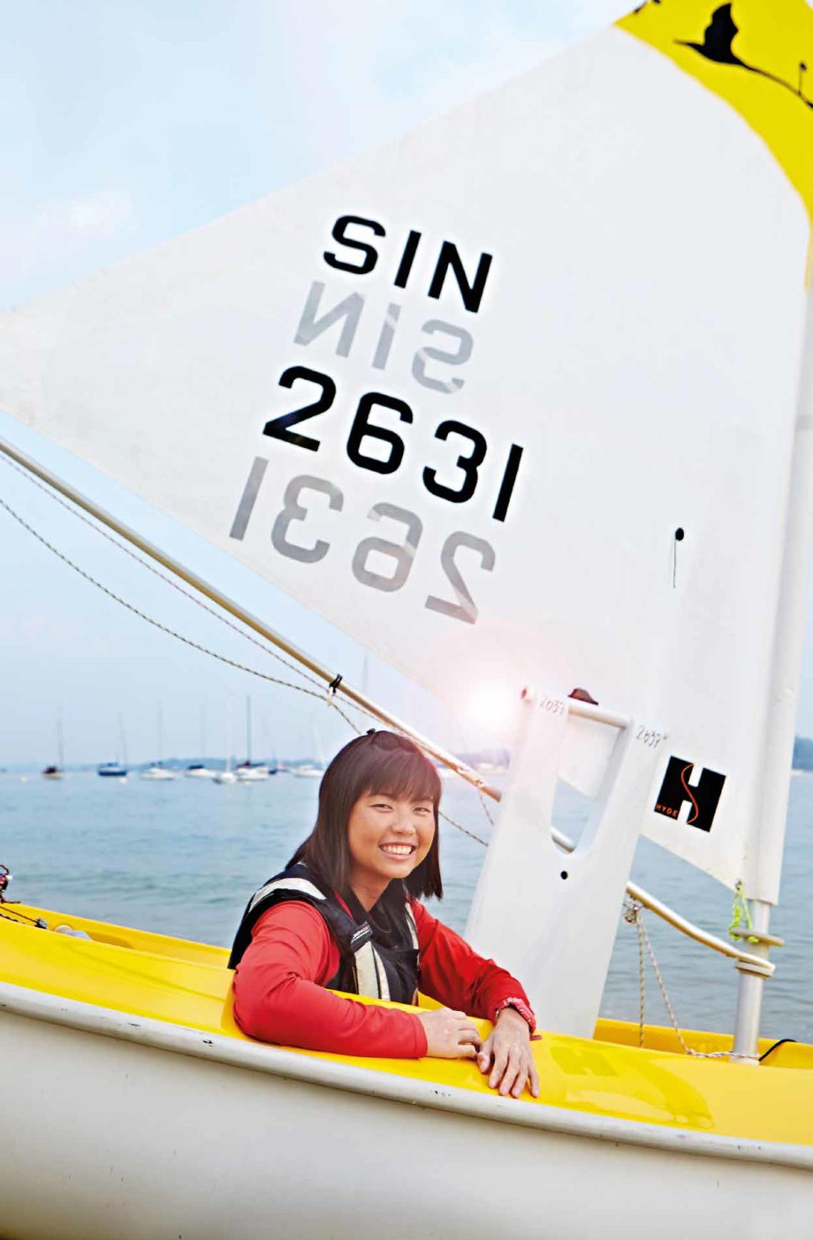 Yap Qian Yin Sailing
