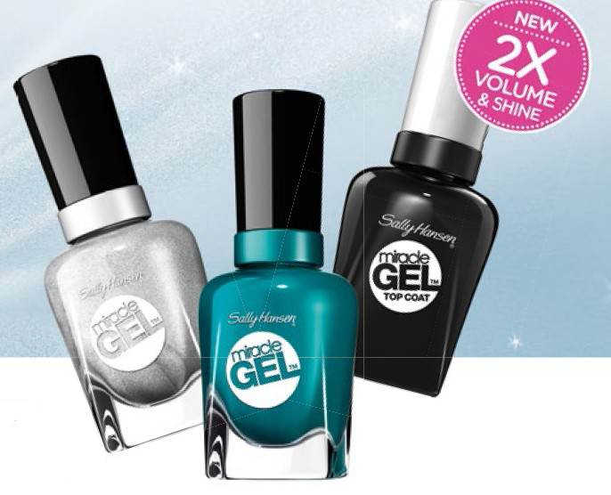 Buffalo Nickel, Fish-teal Braid and Miracle Gel Top Coat, $16.90 each.