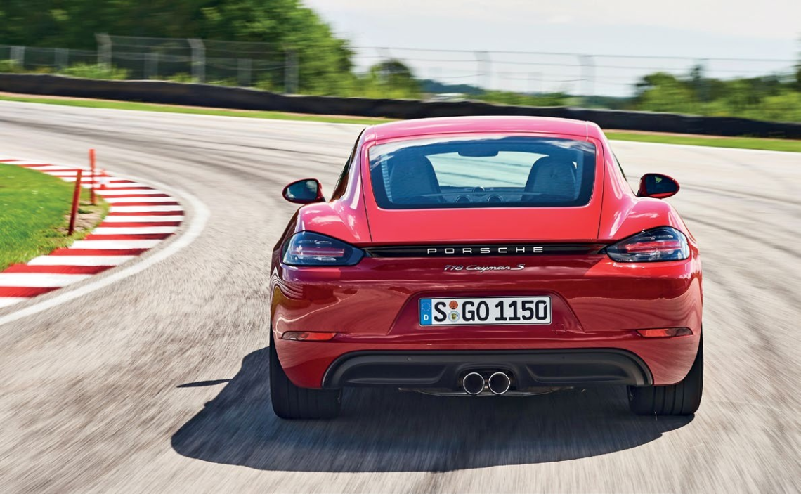 Both Caymans are agile, communicative and easy to drive quickly, but don't sound very special.