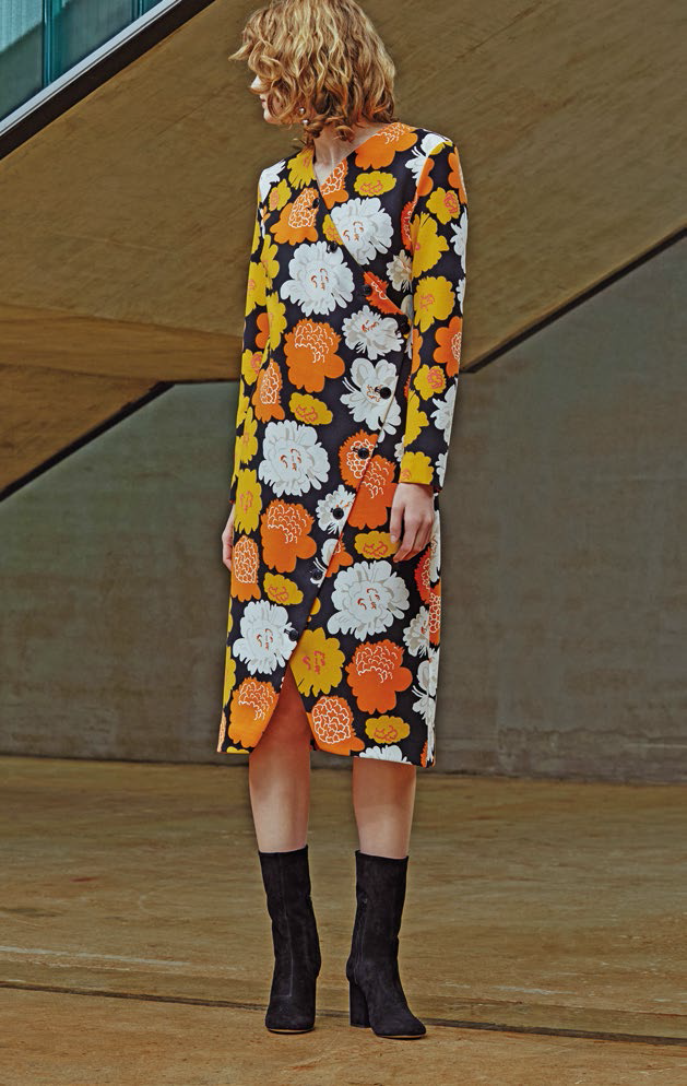 Polyesterblend dress, $1,145, from Marimekko.