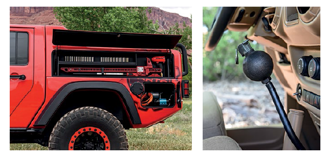 The Red Rock Responder concept is equipped to get offroaders out of trouble.