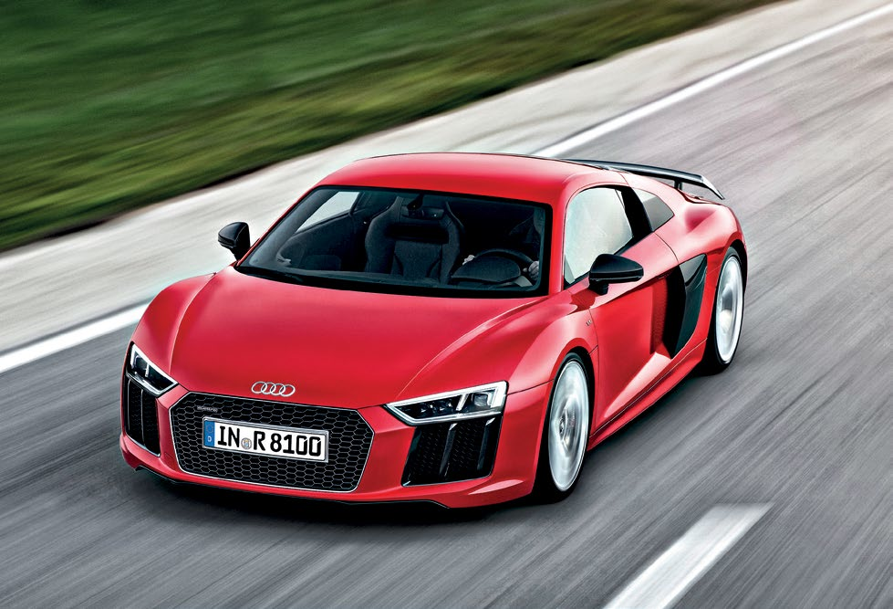 Tremendous performance, ferocious grip, fabulous agility, remarkably good ride – the new R8 is a great performer.