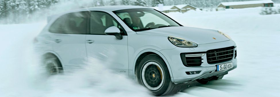 A powerful SUV made for a surprisingly effective snow plough.