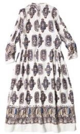 Khadi silk dress, $1,330.