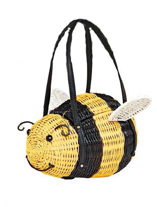 Wicker Bee Bag (price unavailable).