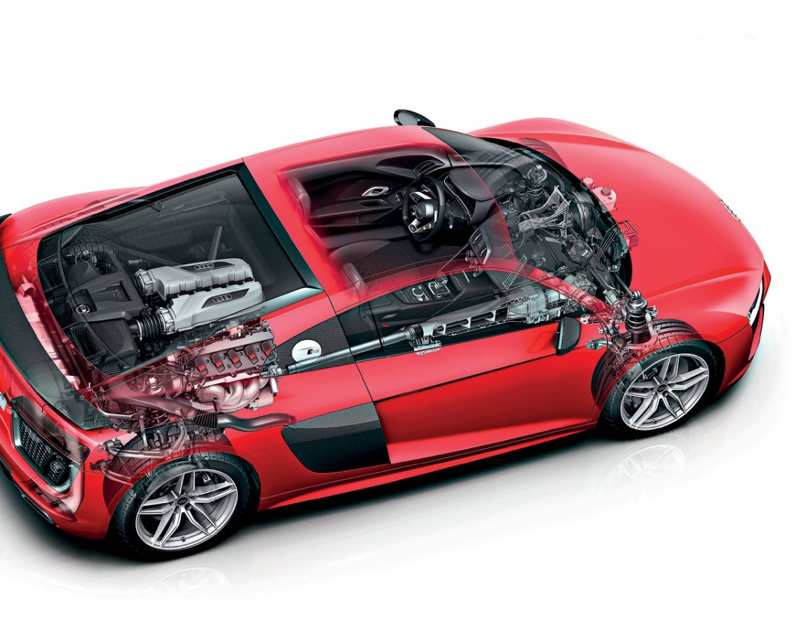 The best of Audi's artistry, technology and build quality can be found in the latestgeneration R8 coupe.