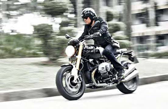 The R nineT looks retro and unlike any other of its BMW Motorrad stablemates.
