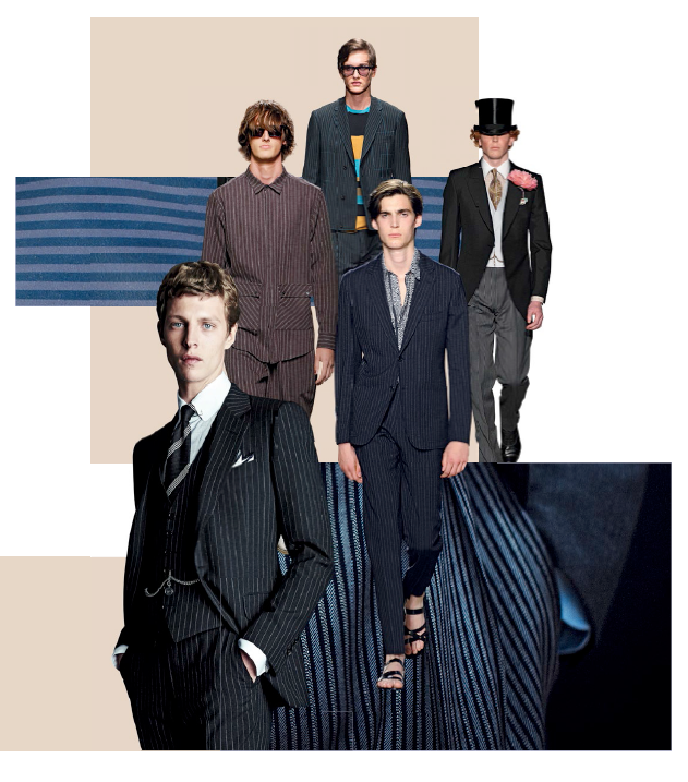 (clockwise from top) Salvatore Ferragamo, Dunhill, Hermes, Tom Ford & MSGM.