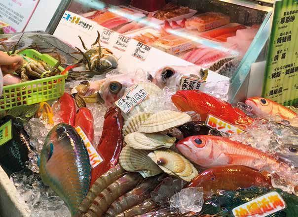 Have your pick of seafood cooked a la minute at Makishi Public Market.