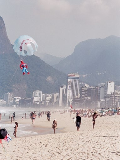 A day in the life of the Cariocas on the iconc Ipanema beach