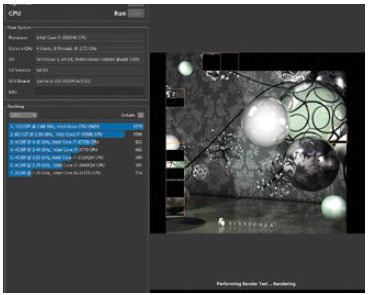 Cinebench R15 is an easy and quick way to test if your overclock is stable.