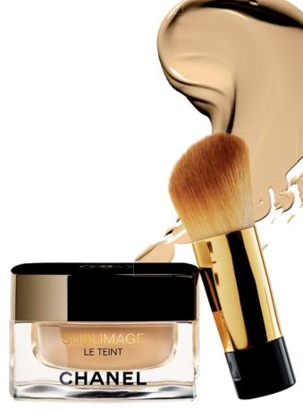 Sublimage Le Teint with brush, $207, Chanel. All Nighter Liquid Foundation, $62, Urban Decay