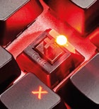 Under the keycaps you'll find Kailh switches.