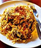 What we ate: Mutton biryani and mango lassi Cost: $19 Where: Bismillah Biryani Restaurant, 50 Dunlop Street
