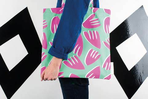 Floral Bag by Sunny Todd Prints, seen at Tent London