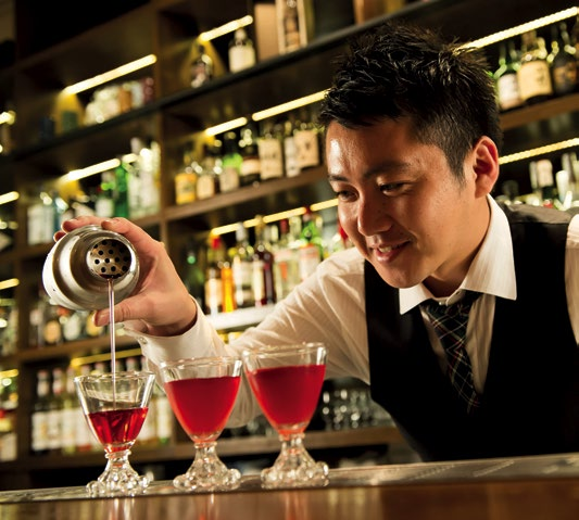 BRIDGING THE GAP: Aki Eguchi believes that pushing boundaries has linked classic and modern cocktails.