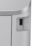 You can print directly from a USB memory device or save faxes to it.
