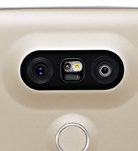 The two rear cameras are 