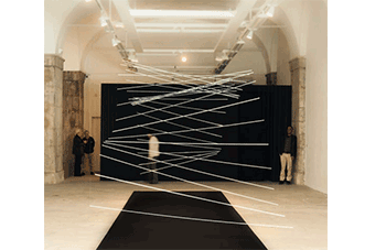 Elias Crespin's kinetic installations make him her favourite artist.