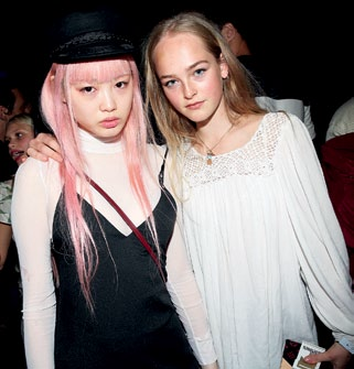 Fernanda Ly and Jean Campbell