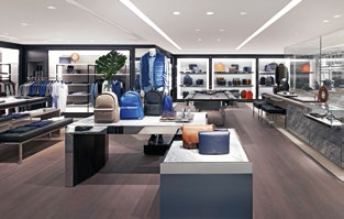 This is the only freestanding Michael Kors boutique in South-east Asia to offer menswear.