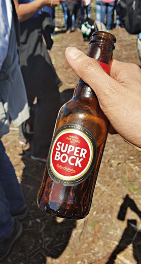 The fans at the Rally de Portugal were in a class of their own, offering good beer and extremely delicious pork sandwiches to total strangers.