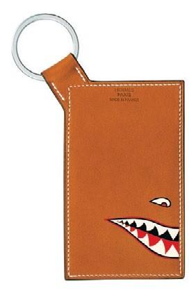 Barénia calfskin Shark ID holder, $1,600