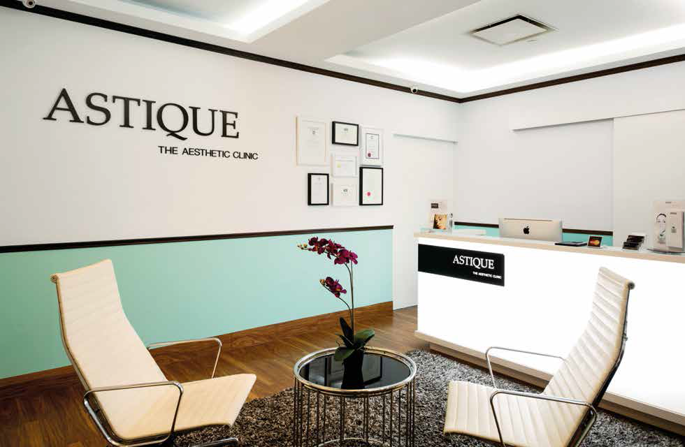 Astique offers beauty and body treatments for a more youthful-looking appearance.