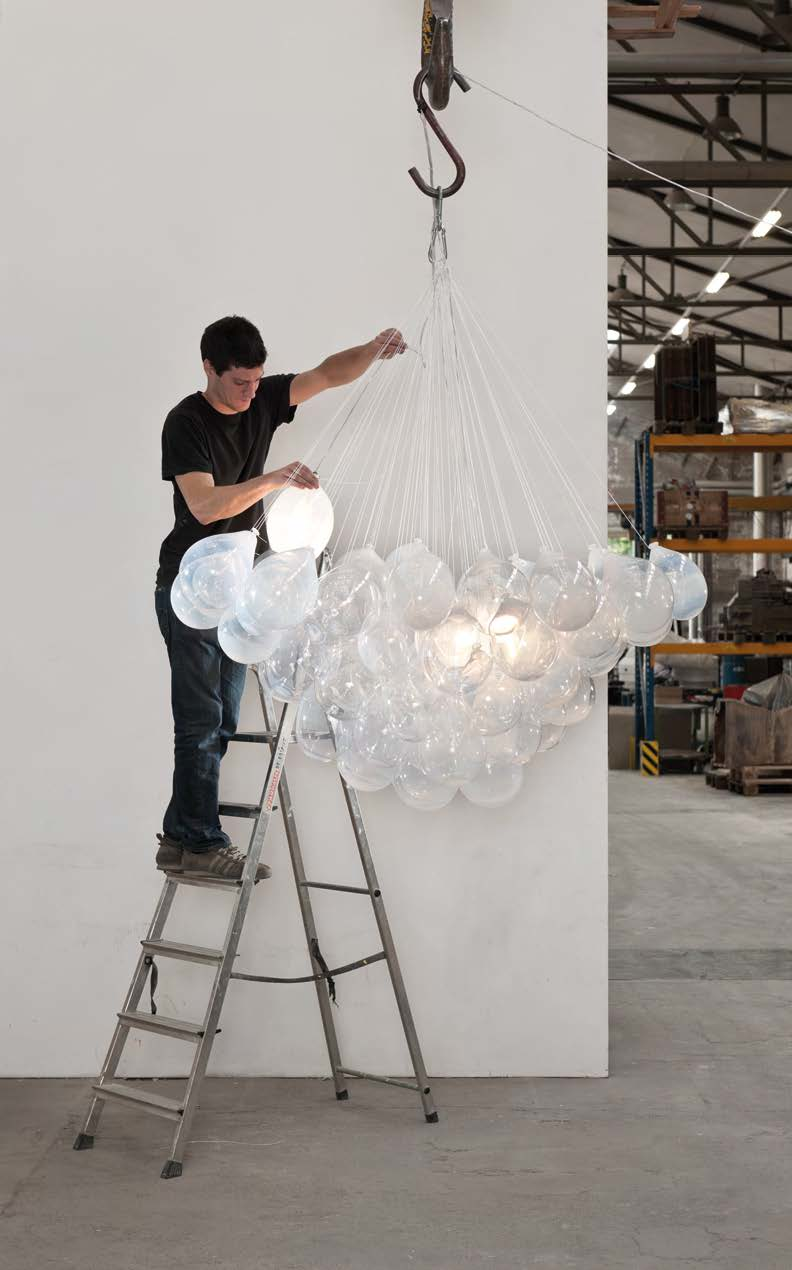 Discover the brilliant new innovations in lighting design, as seen at the festival. See page 22.