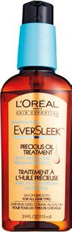 L'Oreal Paris Hair Expertise Eversleek Precious Oil Treatment, $21.90.