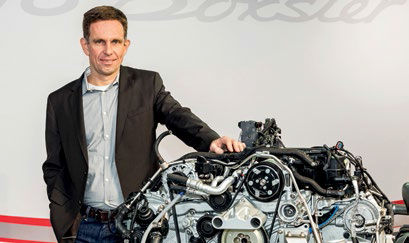"""These are two of the """"doctors"""" who engineered the 718 Boxster."""